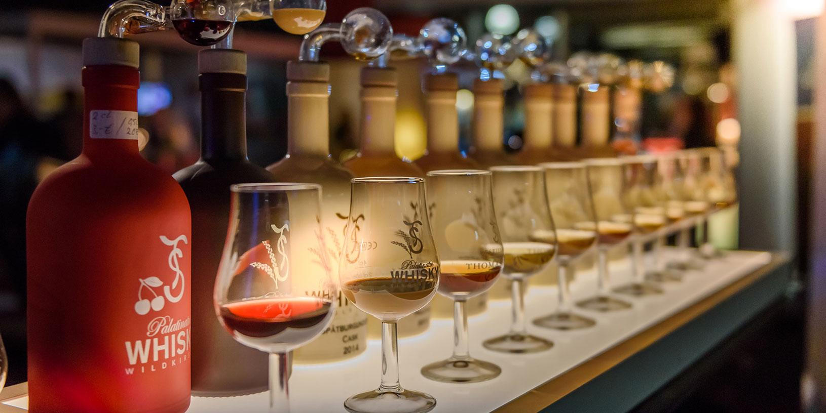 Whisky Abfüllung Bottle Market Bremen