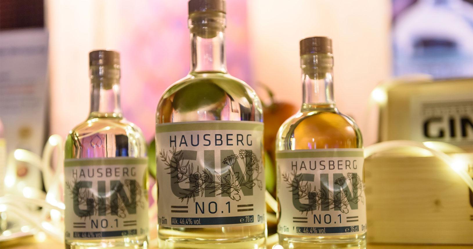Hausberg Gin Bottle Market Bremen