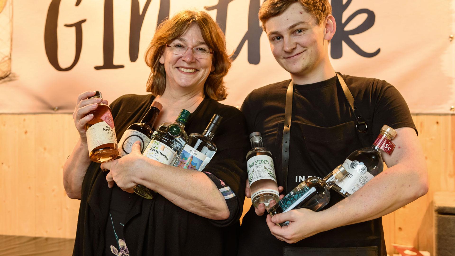 Gin Aussteller Bottle Market Bremen