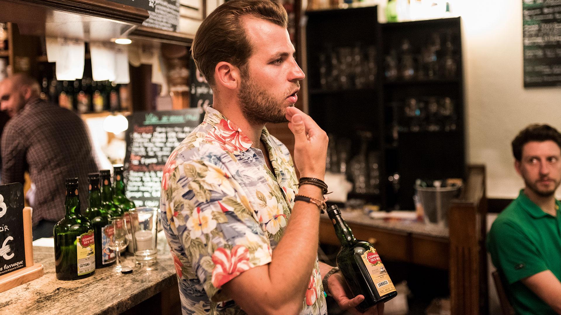 Rum Aussteller Bottle Market Bremen