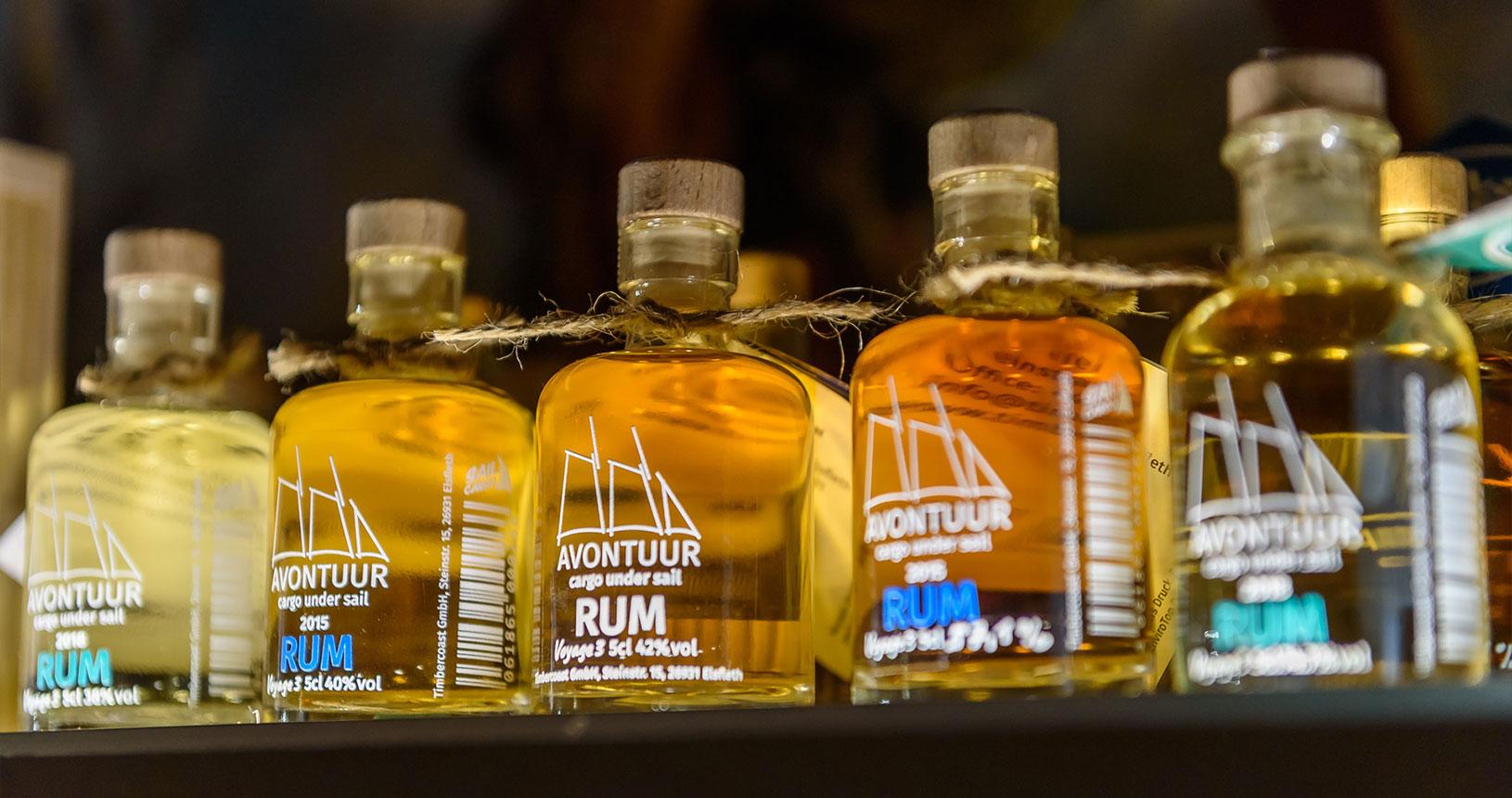 Avontuur Rum Timbercoast Bottle Market Bremen