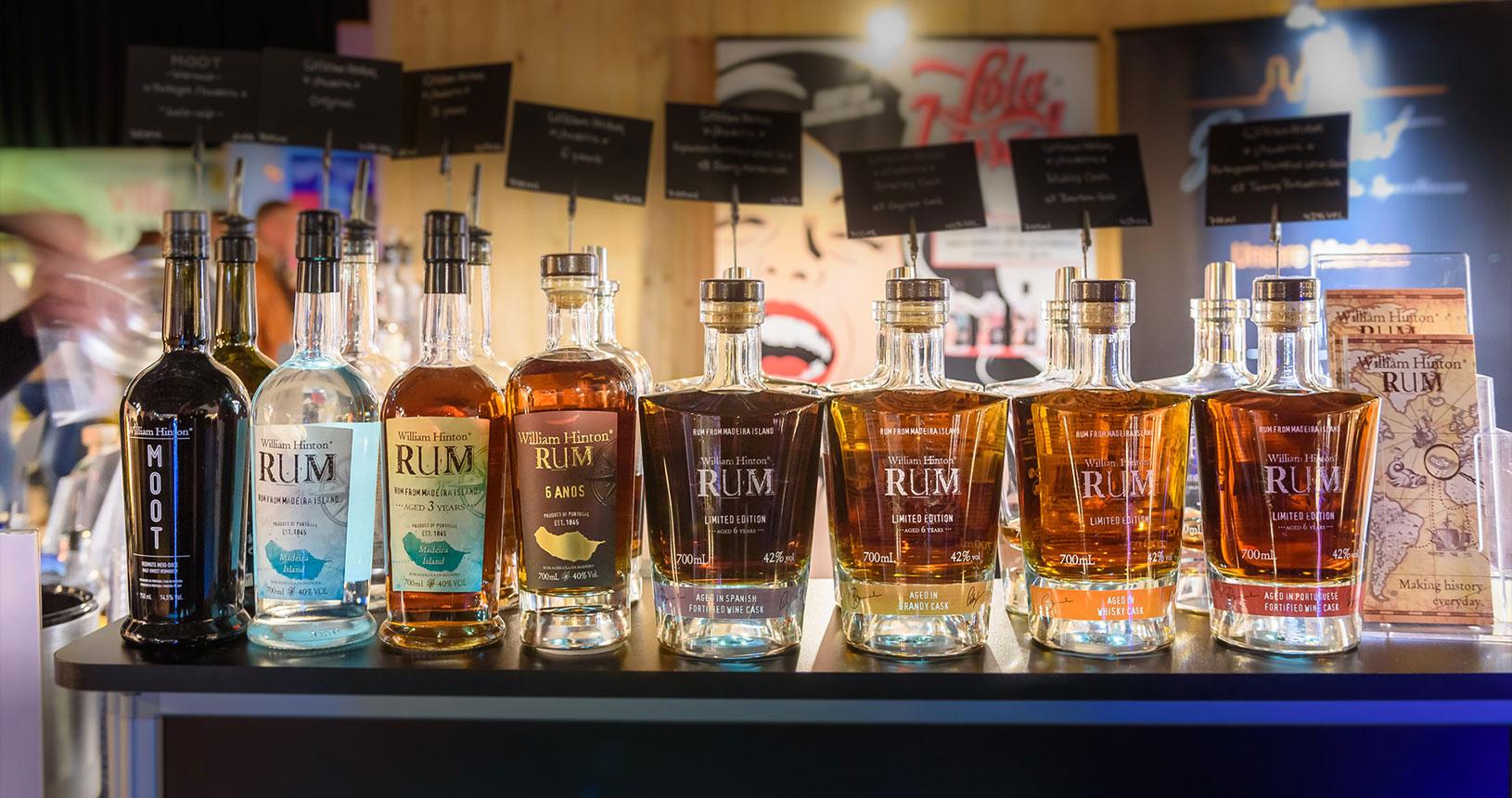 Rum Flaschen Bottle Market Bremen