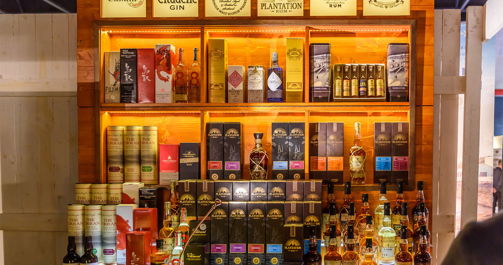 Rum Gin Whisky Bottle Market Bremen